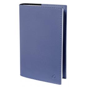 Agenda QUOVADIS PLANNING SD Soho Bleu ardoise - 18x24cm - 1 semaine sur 2 pages Verticale