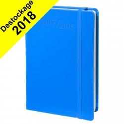 Agenda QUOVADIS UNIVERSITAIRE Habana - Bleu - 10x15cm - 1 semaine sur 2 pages