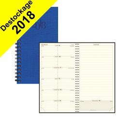 Agenda EXACOMPTA Espace 17W Napura spirale - 175x90mm - 1 semaine sur 1 page (COULEURS ALEATOIRES)