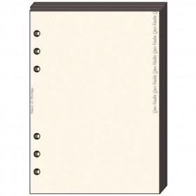 Recharge QUOVADIS Notes papier quadrillé ivoire 10 x 17cm pour TIMER 17