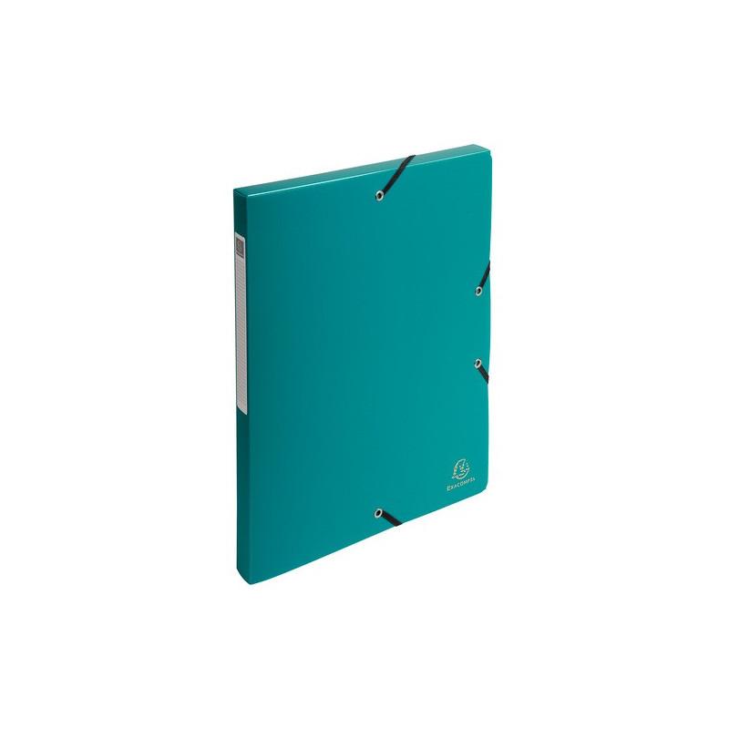 boîte classement exacompta exabox 24x32cm dos 25mm - vert