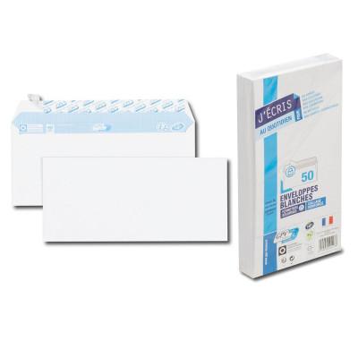 50x Enveloppes DL 110x220mm GPV - bande détachable