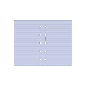 Recharge FILOFAX format MINI - Feuille de notes lignées Lavande