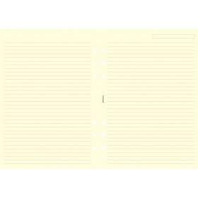 Recharge FILOFAX A5 21x14,8cm - 25 Feuilles de notes lignées - Crème