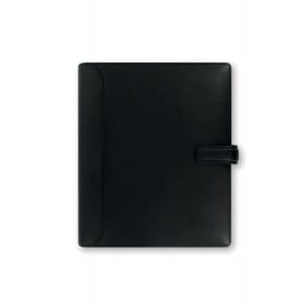 Organiseur FILOFAX A5 23,4x20,3cm NAPPA NOIR cuir de buffle - 1 semaine sur 2 pages VERTICAL