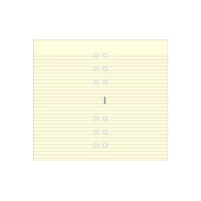 Recharge FILOFAX Personal 17,1x9,5cm - 20 Feuilles de notes lignées - Crème