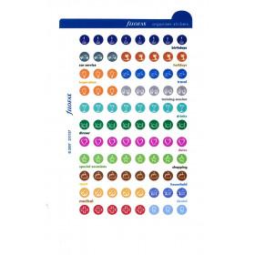 Recharge FILOFAX Pocket 12x8,1cm - 20 Feuilles de notes lignées - Bleu