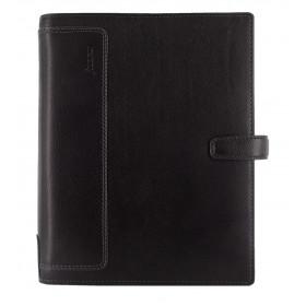 Organiseur FILOFAX A5 23,4x20,3cm HOLBORN NOIR cuir de buffle - 1 semaine sur 2 pages VERTICAL