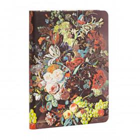 Carnet PAPERBLANKS Ligné - Mini 95×140mm - Nature Morte Éclatée série Van Huysum