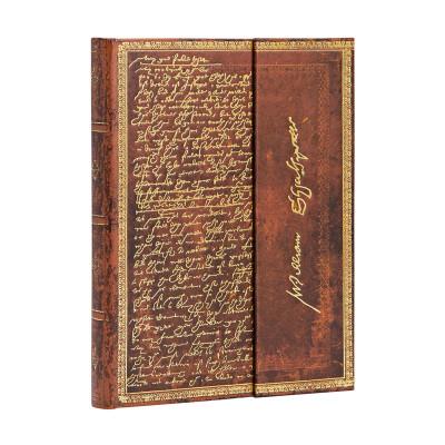 Carnet PAPERBLANKS Ligné - Midi  130×180mm - Les Manuscrits Estampés série Shakespeare, Sir Thomas More