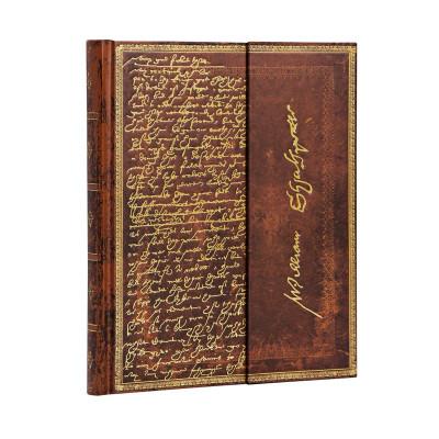 Carnet PAPERBLANKS Ligné - Ultra  180×230mm - Les Manuscrits Estampés série Shakespeare, Sir Thomas More