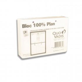 Recharge bloc QUOVADIS 100% plan