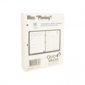 Recharge pour Bloc Planning QUOVADIS - 11,5 x 14,5 cm