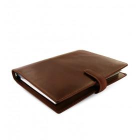 Organiseur FILOFAX A5 23,4x20,3cm LOCKWOOD COGNAC cuir de buffle - 1 semaine sur 2 pages VERTICAL