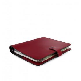 Organiseur FILOFAX The Original A5 23x19cm - Croûte de cuire Rouge - 1 semaine sur 2 pages