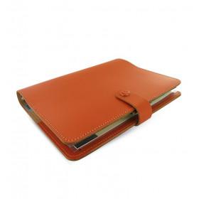 Organiseur FILOFAX The Original A5 23x19cm - Croûte de cuire Orange brûlée - 1 semaine sur 2 pages