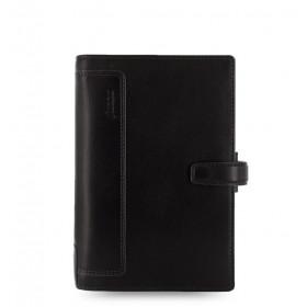 Organiseur FILOFAX Personal compact 12x19cm HOLBORN cuir de buffle NOIR - 1 semaine sur 2 pages VERTICAL