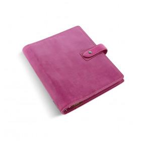 Organiseur FILOFAX Malden A5 23x20cm - cuir buffle pleine fleur Violet - 1 semaine sur 2 pages