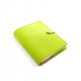 Organiseur FILOFAX The Original A5 23x19cm - Croûte de cuire Poire - 1 semaine sur 2 pages