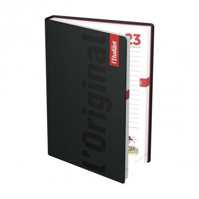 Agenda OXFORD Compact Organizer à spirale - 15x21cm - 1 semaine sur 2 pages - ROUGE