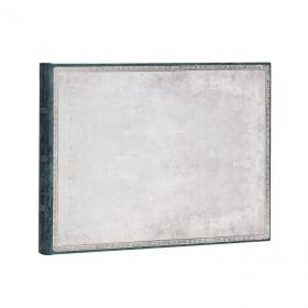 Livred'or PAPERBLANKS Non ligné - Livred'Or 230×180mm - Collection Reliure à l'Ancienne série Silex Blanc