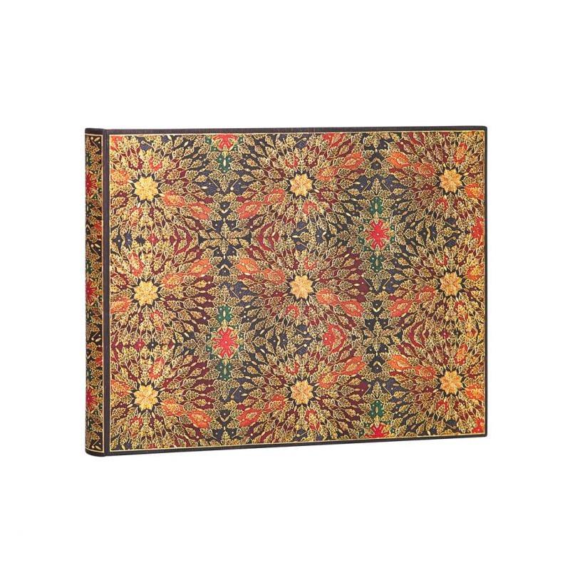 Livred'or PAPERBLANKS Non ligné - Livred'Or 230×180mm - Fleurs de Feu série Fleurs de Feu