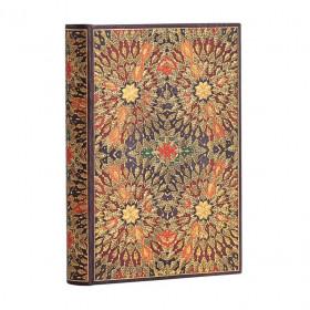 Carnet PAPERBLANKS Ligné - Mini 95×140mm - Fleurs de Feu série Fleurs de Feu