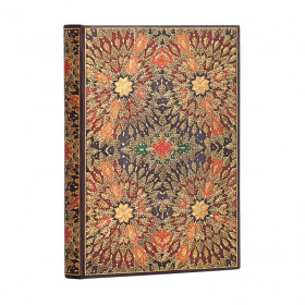 Carnet PAPERBLANKS Ligné - Ultra 180×230mm - Fleurs de Feu série Fleurs de Feu