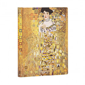 Carnet PAPERBLANKS Non ligné - Midi 130×180mm - Éditions Spéciales 100ème Anniversaire Klimt –Portrait d'Adèle