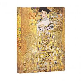 Carnet PAPERBLANKS Ligné - Midi 130×180mm - Éditions Spéciales 100ème Anniversaire Klimt – Portrait d'Adèle