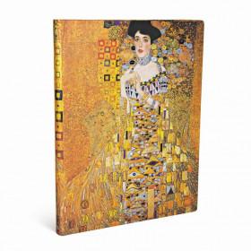 Carnet PAPERBLANKS Ligné - Ultra 180×230mm - Éditions Spéciales 100ème Anniversaire Klimt – Portrait d'Adèle