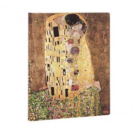 Carnet PAPERBLANKS Ligné - Ultra 180×230mm - Éditions Spéciales 100ème Anniversaire Klimt – Le Baiser
