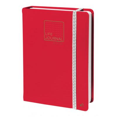 Carnet LIFE JOURNAL QUOVADIS DOTS 15x21cm - Rose Corail