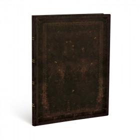 Carnet souple PAPERBLANKS Non ligné - Ultra 180×230mm - Flexis série Noir Marocain Uni - 176 pages