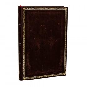 Carnet souple PAPERBLANKS Ligné - Mini 95×140mm - Flexis série Noir Marocain - 176 pages