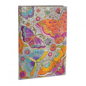 Carnet souple PAPERBLANKS Ligné - Mini 95×140mm - Flexis série Papillons - 176 pages