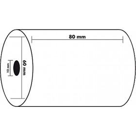 Lot de 10x Bobines EXACOMPTA papier thermique 80x60x12x44mm - 1 pli 55g/m2.