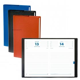 Agenda QUOVADIS Textagenda 12 x 17 cm - 1 jour par page (COLORIS ALEATOIRES)