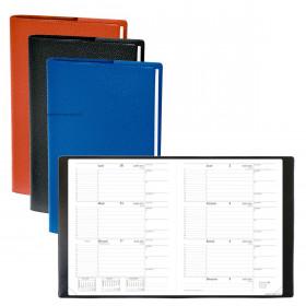 Agenda QUOVADIS Le principal 18 x 24 cm - 1 semaine sur 2 pages + répertoire (COLORIS ALEATOIRES)