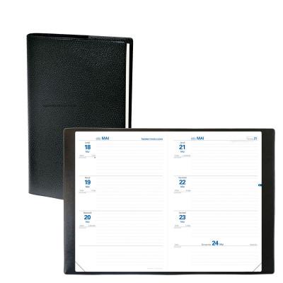 Agenda semainier QUOVADIS Texthebdo 16 x 24 cm - 1 semaine sur 2 pages