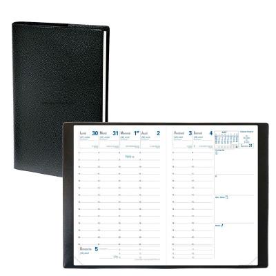 Agenda semainier de poche QUOVADIS Universitaire 10 x 15 cm - 1 semaine sur 2 pages