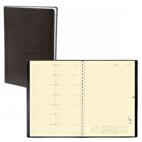 Agenda QUOVADIS Note 29® S noir 21x29,7 cm - 1 semaine sur 1 page + NOTES - spirale