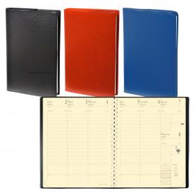 Agenda QUOVADIS Manager® 21 x 27 cm - 1 semaine sur 2 pages (COLORIS ALEATOIRES)