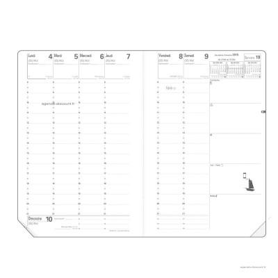 Recharge pour agenda QUOVADIS MINISTRE format 16x24cm