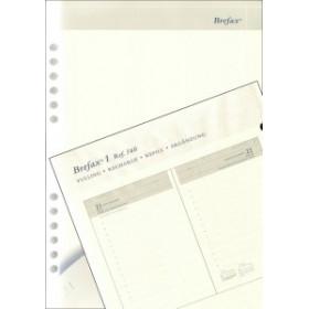 Recharge Brepols pour Brefax 1 - 1 jour par page - 14,5x21cm