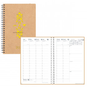 Agenda QUOVADIS MINISTRE S Spiralé Authentik tribal - 16x24cm - 1 semaine sur 2 pages