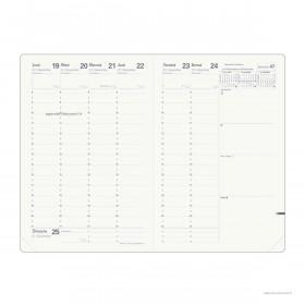 Recharge pour agenda QUOVADIS MINISTRE Recyclé format 16x24cm