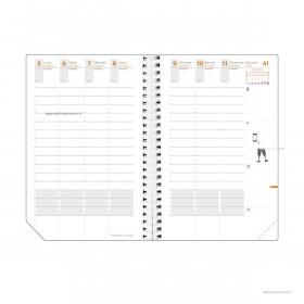 Recharge pour agenda QUOVADIS TIME&LIFE LARGE format 16x24cm