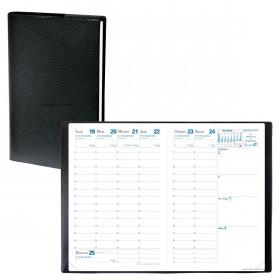 Agenda QUOVADIS Affaires® - 10 x 15 cm - 1 semaine sur 2 pages 13 1/2 mois (mi-novembre à décembre)