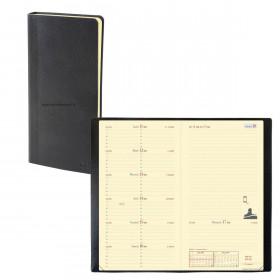 Agenda QUOVADIS ITALNOTE - 8,8x17cm - 1 semaine sur 1 page + NOTES TOSCANA NOIR